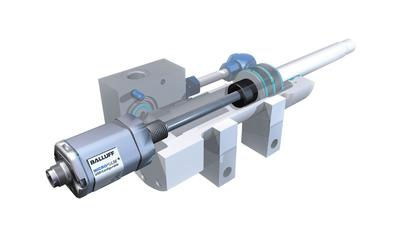 Balluff Transducers for partial-stroke testing on hydraulic valve drives