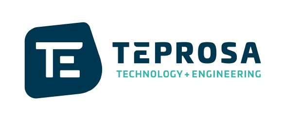 Das neue Logo der TEPROSA GmbH und der Claim - Technoloy & Engineering.
