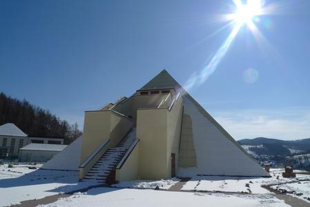 Winterimpression von einer Sauerlandpyramide