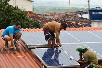 mep werke spenden solaranlage f r soziale einrichtung in brasilien mep werke gmbh. Black Bedroom Furniture Sets. Home Design Ideas