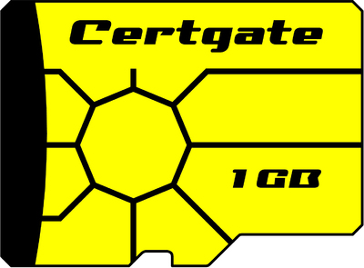 certgate Smart Card Now With 1GB Flash Memory
