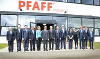 High-level delegation from China visited PFAFF INDUSTRIAL