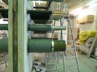In den Materialprüfungsämtern wird die Eignung der Wanddurchdringungen als Brandschutzkomponente sehr genau geprüft. Denn die eingebauten Brandschutzsysteme müssen den gleichen Anforderungen genügen wie die klassifizierte Wand oder Decke an sich / Fotonachweis: Thermaflex/txn