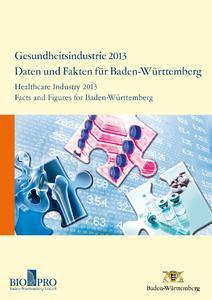 Branchenbericht Gesundheitsindustrie 2013 Cover