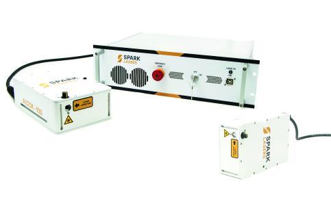 Die Laser der ALCOR-Serie liefern bei 920 nm (oder/und 1064 nm) eine hohe mittlere Leistung mit ultrakurzen Femtosekundenpulsen (bis zu <100 fs) bei hoher Wiederholrate (80 MHz Standard, andere optional) in einem ultrakompakten und robusten Format. In der Dual-Wavelength-Version werden simultan zwei Wellenlängen bereitgestellt.