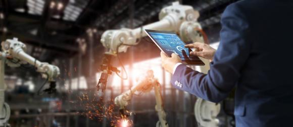 Cybersecurity von Produktionsanlagen (Foto: Shutterstock)