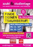 Plakat-Motiv Vorab-Registrierung azubi- studientage München 2020