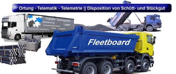 Übersicht der Möglickeiten. Egal ob Schüttgut oder Stückgut, die WDV20xx mit der integrierten Disposition und den Möglichkeiten des FleetBoards eröffnet ungeahnte Möglichkeiten.
