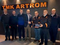 TMK-ARTROM starts production on new heat treatment line for pipes supplied by SMS group