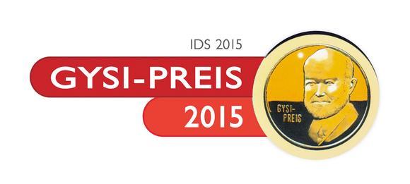 Logo  Gysi Preis 2015