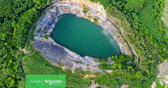 Digitale IoT-Lösungen für eine nachhaltige Bergbau- und Metallindustrie: Schneider Electric und AVEVA