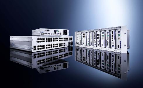 ControlCenter-Compact KVM Matrixswitch und eine Vielzahl an Rechner- und Arbeitsplatzmodulen