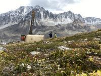Bohrung auf dem Estelle-Projekt in Alaska; Foto: Nova Minerals