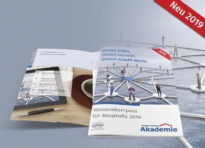 Wissen bildet. Wissen vernetzt. Wissen schafft Werte. So startet der Wissenskompass ins Jahr 2019 / Bildquelle: Bernhard Remmers Akademie, Löningen