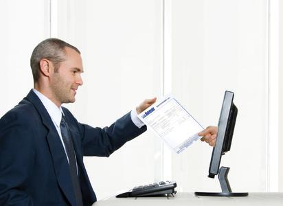 Rechnungen gesetzkonform direkt auf den Bildschirm des Empfängers schicken: Die neue eInvoice-Lösung von ReadSoft und LogAgency.