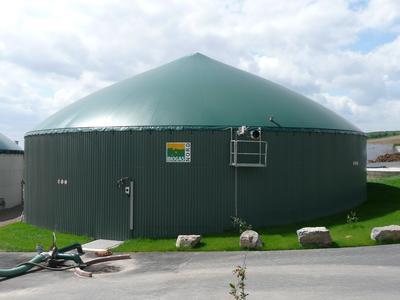 Biogasanlage in Peckelsheim