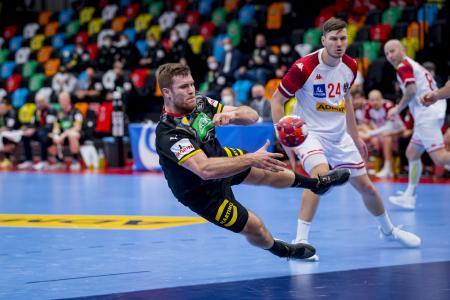 Nationalspieler Johannes Golla im EM-Qualifikationsspiel gegen Österreich