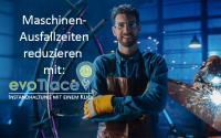Maschinen-Ausfallzeiten reduzieren mit evoTrace von evodion IT, Hamburg