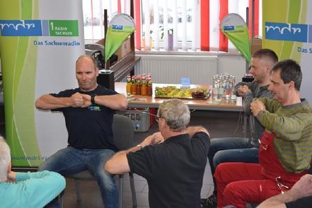 Fitnesspause bei KTW, Bildquelle: MDR/Monika Werner