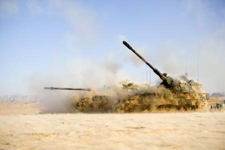 Symbolic Picture 155mm Howitzer Firing ©Leo van Westerhoven