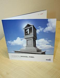 Die Sockel-Fibel informiert Architekten oder Planern über Details rund um das Thema Sockel (Bildquelle: Remmers Baustofftechnik, Löningen)