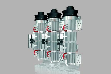 Modular high current rectifier up to 3000A for optimized cabinet integration