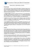 [PDF] Pressemitteilung: Executive Search - Entwicklungen und Ausblick: Eine Zusammenfassung der Studien der AESC