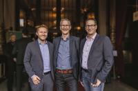 Dennis Giwoleit (WMD), Gerold Gülker und Stephan Eilers (Gerold Gülker Systemberatungen) (l.nr) Bild WMD Group