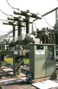 Fronteinbau-Gefahrmeldesysteme von Unitro-Fleischmann in 110 kV-Freiluftanlage