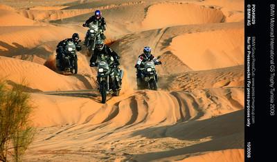 Willkommen zur BMW Motorrad GS Trophy 2010. Abenteuer, Sport und Kräftemessen in Südafrika