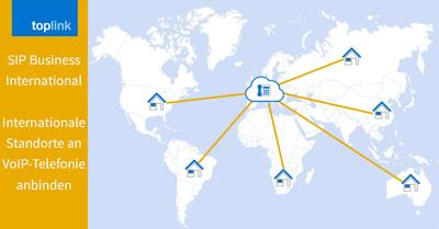 SIP Business International bindet internationale Standorte an Ihre VoIP-Telefonie an: Datenschutz erhöhen, die Kompatibilität verbessern und Kosten sparen!