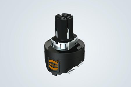 """M12 with Magnetics: The world first """"M12 with Magnetics"""" unites connector and transformer"""