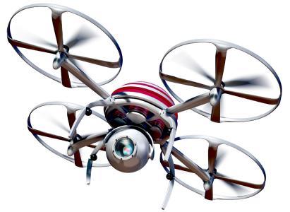 Layouterfassung im Flug: Kamera-Drohnen wie diese sollen die Optimierung von Fabriken erleichtern – daran forscht das IPH / Bildlizenz: CC0 Public Domain – Freie kommerzielle Nutzung, kein Bildnachweis nötig