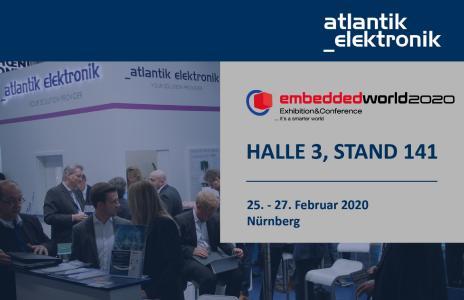 5G Haus Atlantik Elektronik @Embedded World 2020