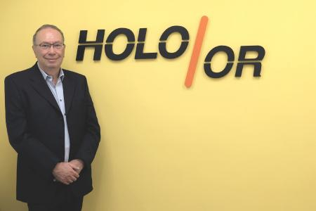 Firmengründer HOLO/OR Israel Grossinger