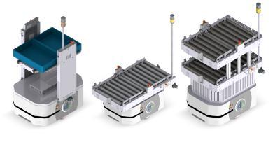 Der LD-250 lässt sich für nahezu jeden Transportauftrag einrichten. Insgesamt sechs standardisierte Aufbauten stehen aktuell zur Wahl. Kundenspezifische Sonderanfertigungen sind jederzeit realisierbar