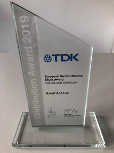 Avnet Abacus gewinnt TDK European Distribution Award zum 3. Mal in Folge