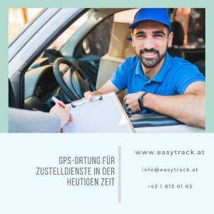 Einsatz von GPS-Geräten der Firma Easytrack ermöglicht besseres Service für Zustelldienste