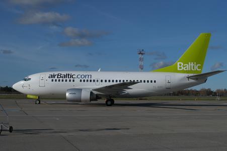 Boeing der airBaltic-Flotte