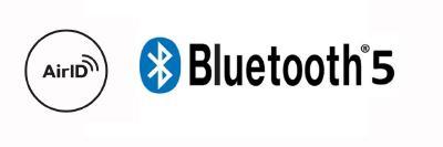 AirID Logo & Bluetooth 5