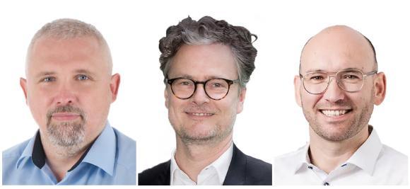 Henry Georges (LKA Hamburg), Michael Gröber (D-TRUST) und Stefan Cink (Net at Work) sind die Referenten beim zweiten Webinar-Tag der Initiative Sicherer Bürgerdialog.