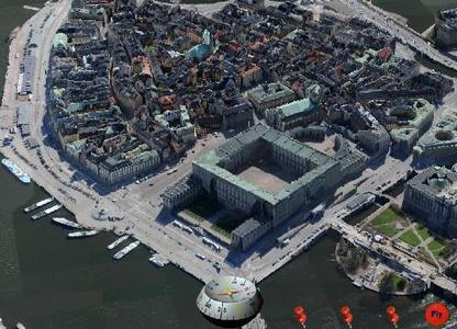 Automatically created 3D City model