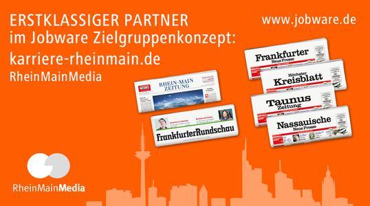Jobware und RheinMainMedia kooperieren.