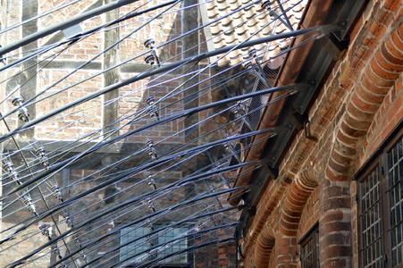 Anerkennungen der Kategorie Architektur: Glasdach über dem Kleinen Ratshof im Rathaus Lüneburg von pmp Architekten Padberg + Partner