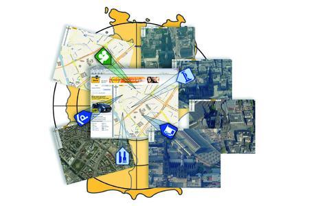 Stadtansichten in 3D auf meinestadt.de