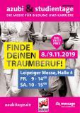 azubi- & studientage Leipzig 2019 - Plakat-Motiv