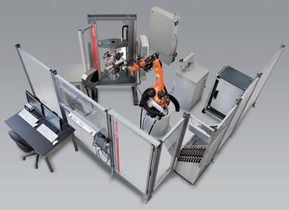 Roboter-Prüfsystem von Zwick für Zugversuche an Metallen gemäß ISO 6892-1 (2009)
