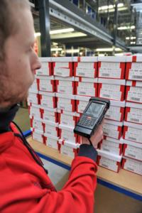 The lightweight BHT-700 from Denso has a gun grip for ease of scanning and a large display for optimum legibility