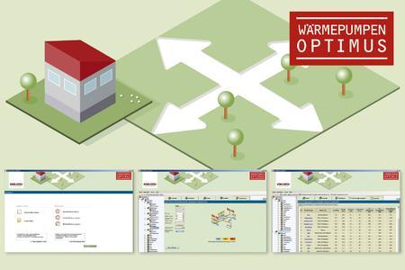 """Mit der neuen Software """"Wärmepumpen-Optimus"""" erweitert STIEBEL ELTRON sein Angebot an Planungssoftware zur Unterstützung von Fachhandwerkern, Architekten und Fachplanern"""