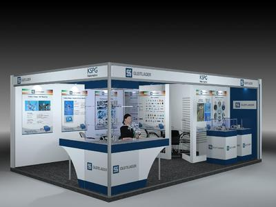 Messestand Trade fair stand